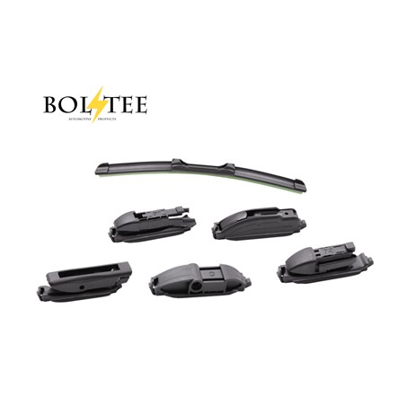 BOLTEE CL Frameless WIPERS 9 Adaptors (For ALL Conti Cars)