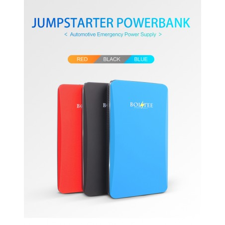 BOLTEE 3 in 1 Jumper Starter 6000mah Powerbank